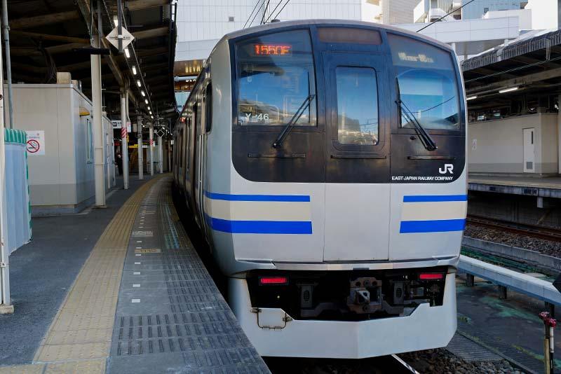 千葉駅から栄町ソープランド街へ行く:JR千葉駅