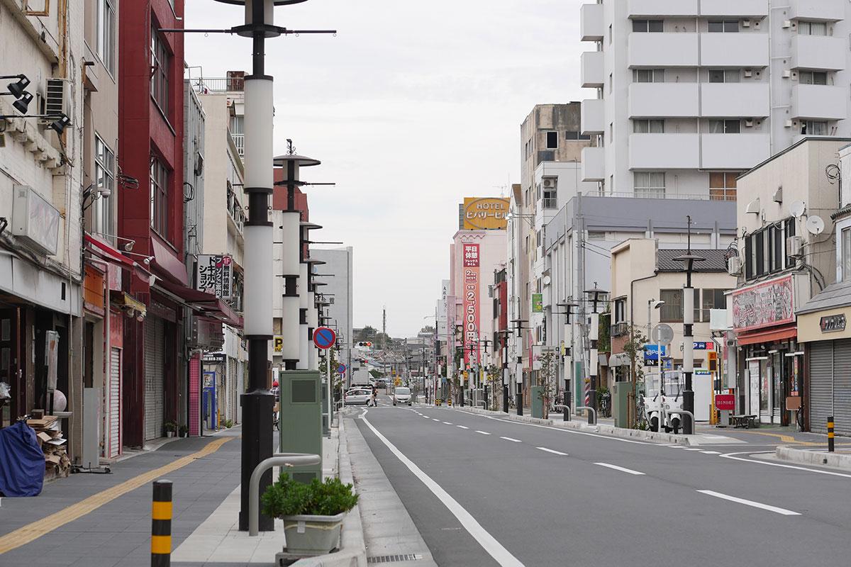 千葉栄町ソープランド街の写真